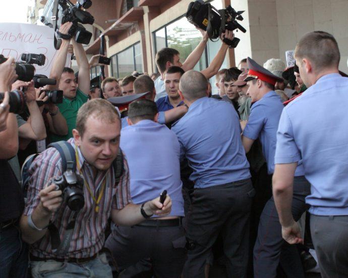 Журналист Андрей Кошик/фото из социальных сетей