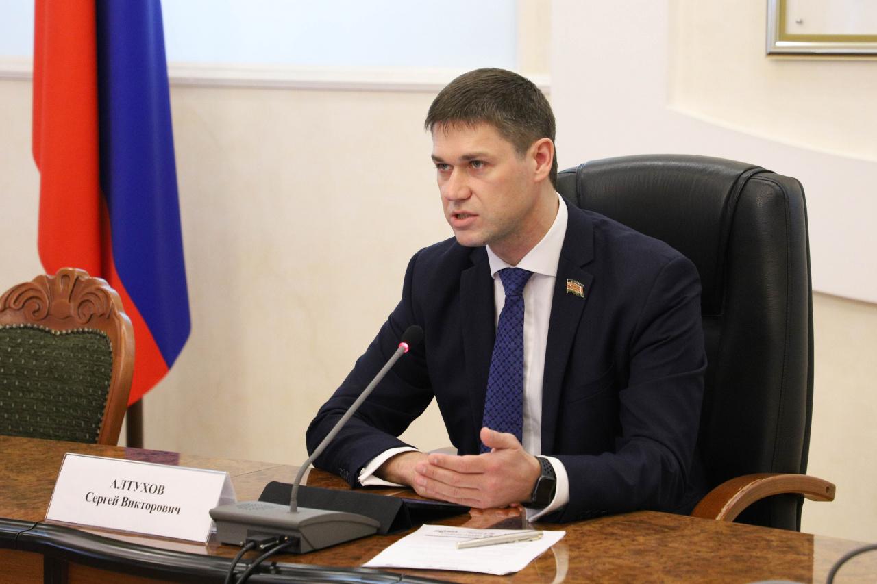 Сергей Алтухов. Фото: Законодательное собрание Краснодарского края