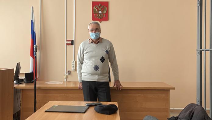 Владимир Скачидуб в день вынесения приговора